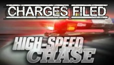 High Speed Chase Charges Filed News Graphic