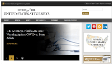 United States Attorney Office Website