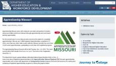 Missouri apprenticeship website