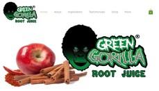 Green Gorilla Root Juice Website