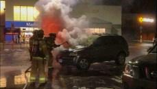 Chillicothe SUV Fire at Walmart
