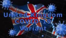 UK or United Kingdom COVID-19 or Coronavirus mutation or Variant