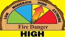 High Fire Danger
