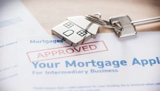 Approved mortgage loan agreement application or Mortgage