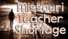 Missouri Teacher Shortage News Graphic