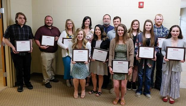 NCMC Outstanding Honor Graduates