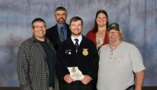 Ryan Smith of Milan FFA Chapter named Area 3 Star Farmer