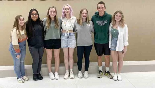 THS Student Council Officers for 2021-2022