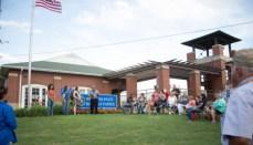 Military Flag Retreat Ceremony at Missouri State Fair