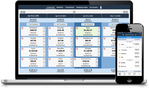 Personal Budget Software with Balance Forecasting | Kualto