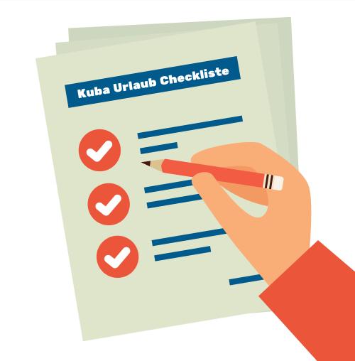 Kuba Urlaub Checkliste