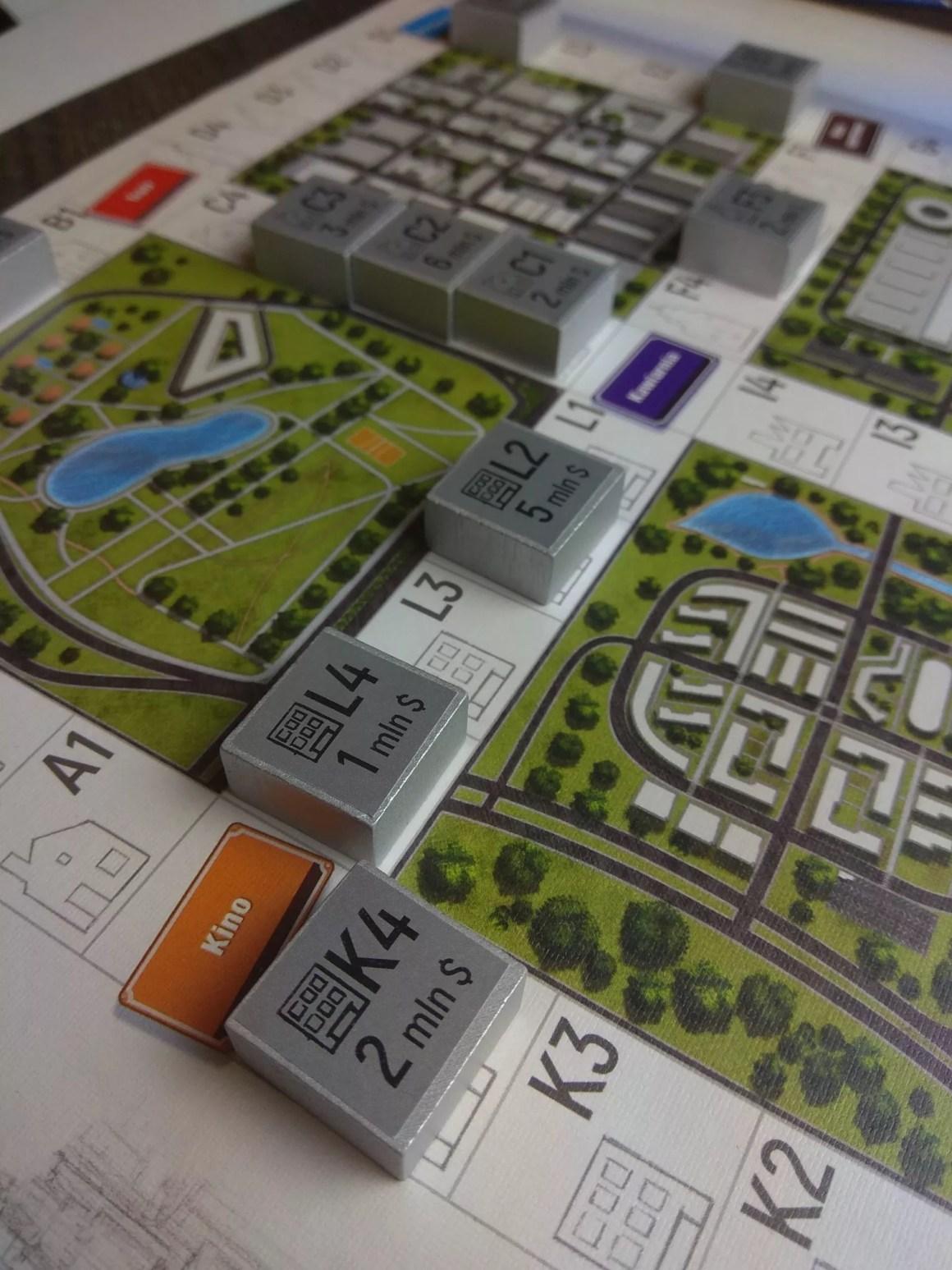 Budowa miasta gra planszowa