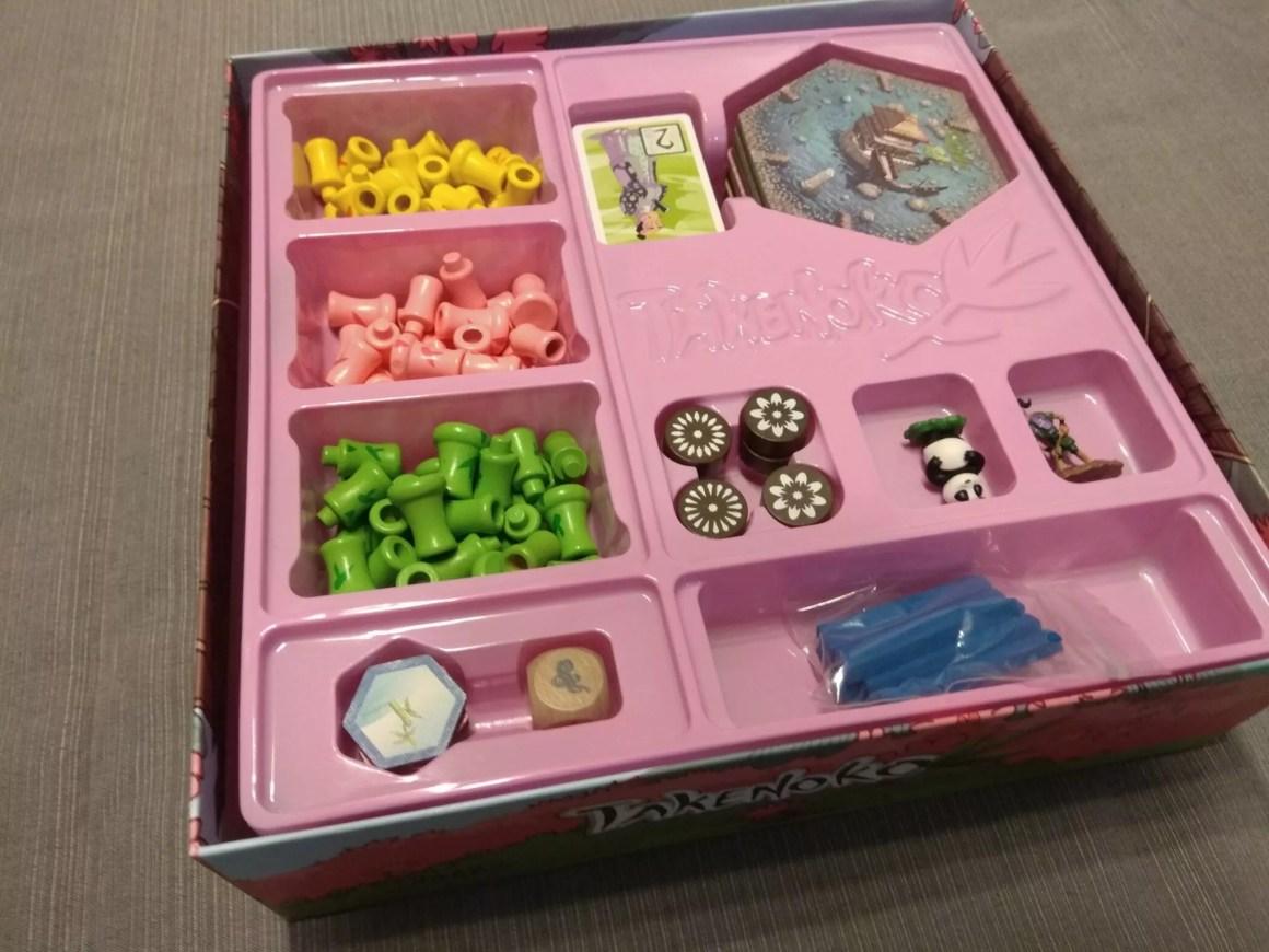 Takenoko pudełko
