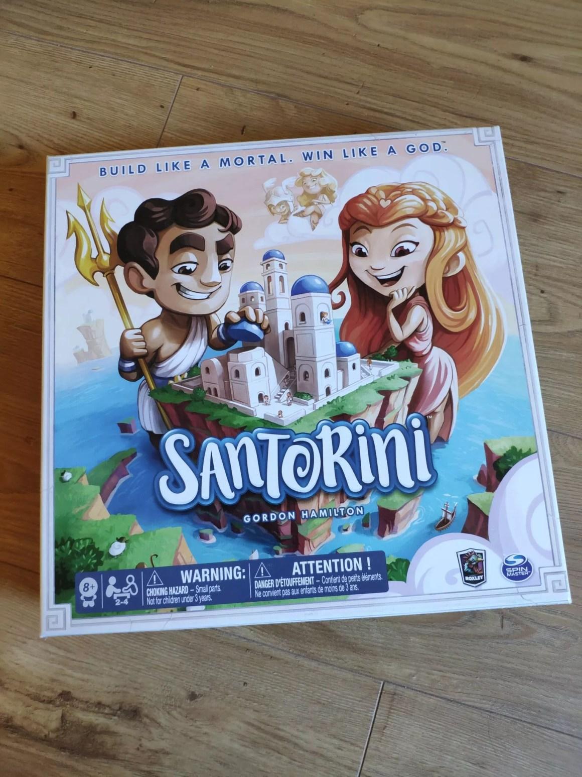 Santorini pudełko