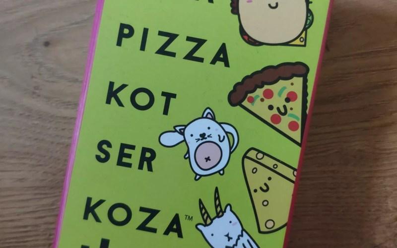 Buła pizza kot ser koza