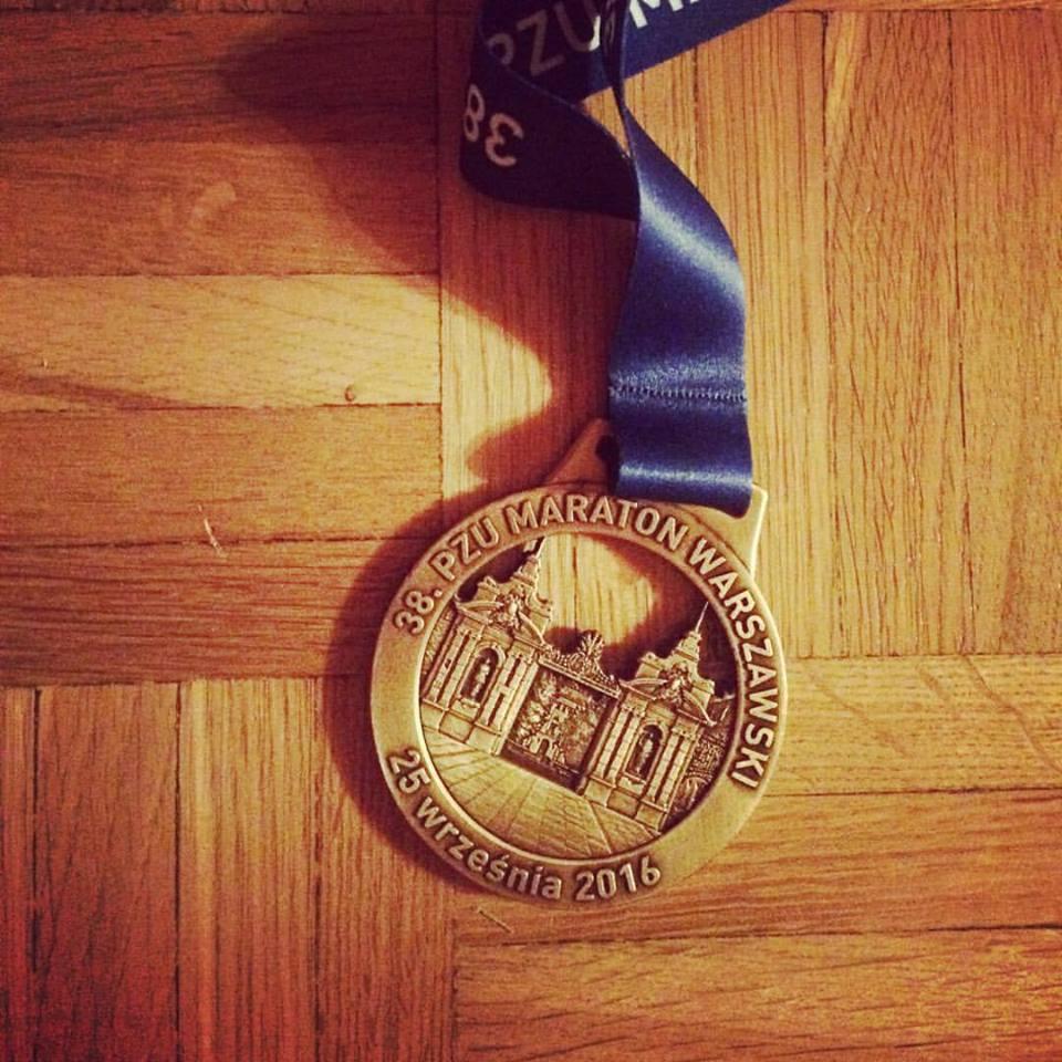 Medal - 38. PZU Maraton Warszawski