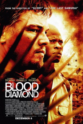 Blooddiamond movie poster