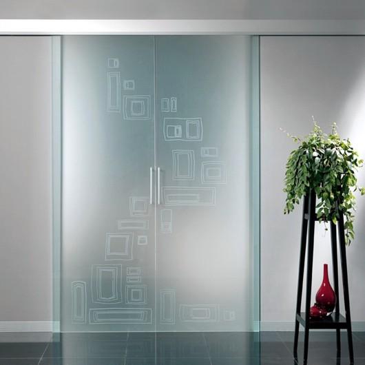 Porte  Porte su misura  Porte In vetro Scorrevoli esterno muro e scomparsa