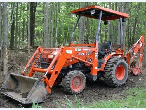 Kubota B21 Tractor Master Parts Manual Download