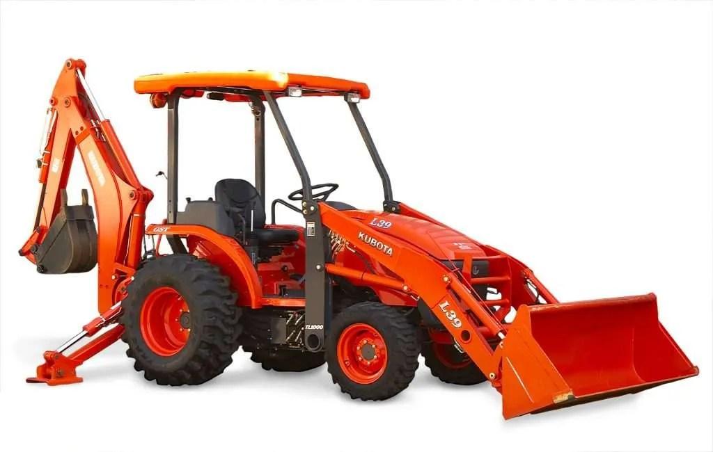 Kubota L39 Tlb Tractor Loader Backhoe Service Manual