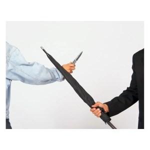 unbreakable umbrella Regenschirm selbstverteidigung