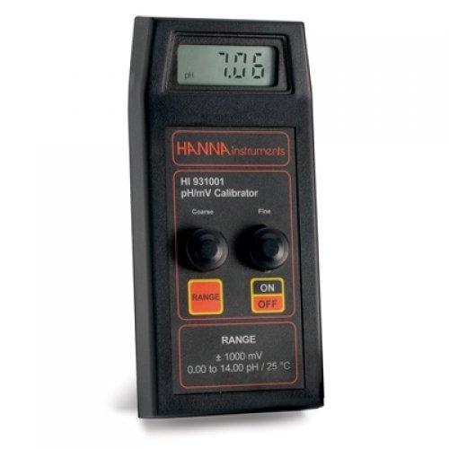 Hanna HI 931001 pH-Mv Calibration
