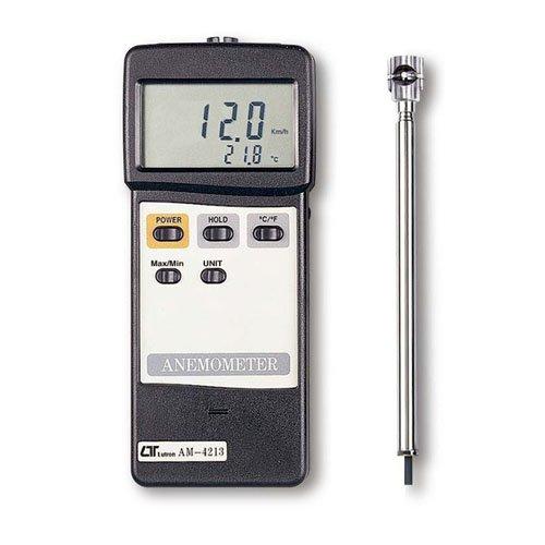 Lutron AM4213 Vane Air Flow Anemometer