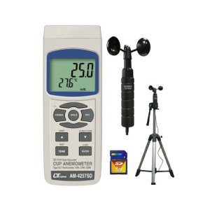 Lutron AM4257-SD Portable Cup Anemometer
