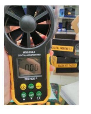 Dekko HS 6252A Digital Anemometer