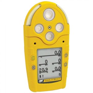 BW Technologies GasAlert Micro 5 IR [M5IR] Gas Detector With IR (Infrared) For Carbon Dioxide (CO2)