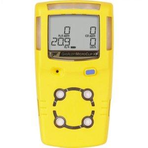 BW Technologies GasAlert MicroClip X3 [MCX3-00H0-Y-NA] 1-Gas Detector , Hydrogen Sulfide (H2S)