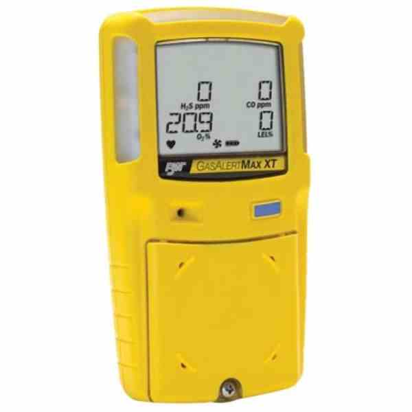 BW Technologies GasAlertMax XT II [XT-000M-Y-NA] Single Gas Detector With Motorized Pump, CO, Yellow