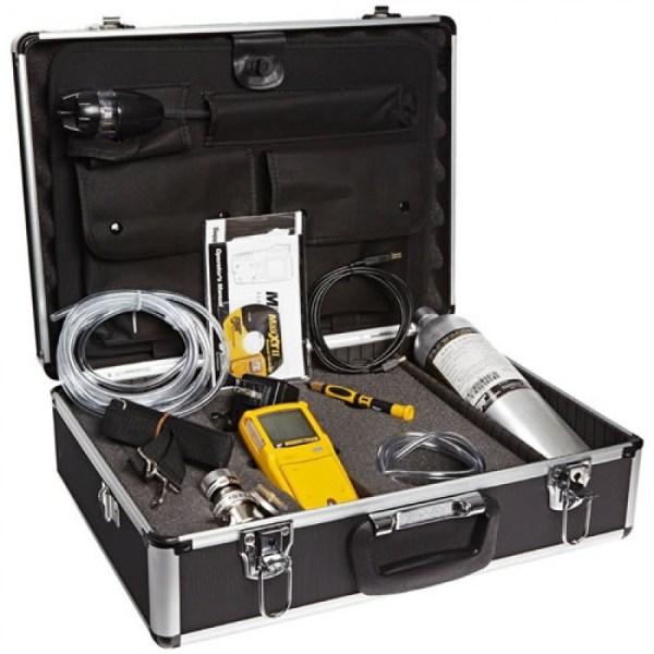 BW Technologies GasAlertQuattro [QT-XWHM-R-Y-NA-CS] Confined Space Kit