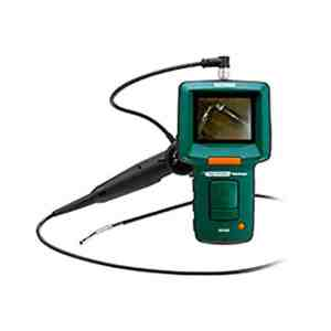 """Extech HDV540 High-Definition Articulating VideoScope Kit W/ 6mm Camera & 3.5"""" TFT LCD Monitor"""