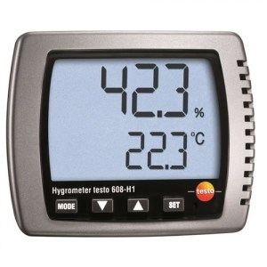 Testo 608-H1 [0560 6081] Thermo-Hygrometer With Large Display