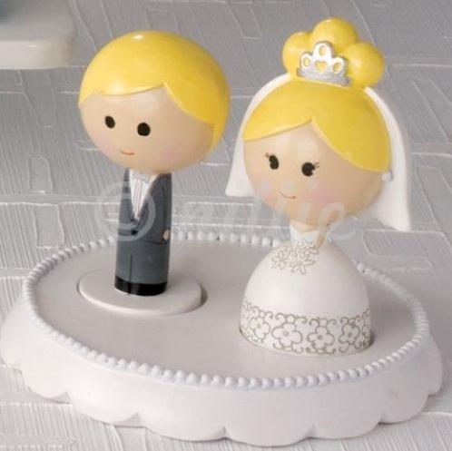 Tortenfiguren zur Hochzeit Originelle Hochzeitstortenfiguren