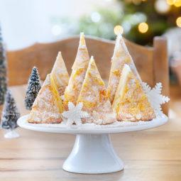 Schneller Weihnachtskuchen ohne backen Schneemannkuchen
