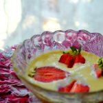 Jak smakować życie? Rachel Khoo champagne sabayon with strawberries