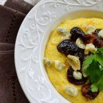 Między jawą a snem…Śniadanie czy lunch? Polenta,grzyby i sery
