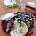 Karmelizowane buraki i kozi ser. Tarta. Sezonowo od A do M