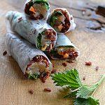 Chwasty, czerwony ryż z Camargue i dziki łosoś. Spring rolls w Sezonowo od A do M!