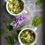 Pasta Primavera. Wiosenny makaron  z zielonymi warzywami w Pasta e Vino!