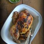 Kurczak pieczony z pesto. Piechotą do lata będę szła!