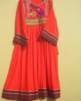 Kuchi Tribal Ladies Dress-5