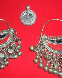 Large Kuchi Ear Rings