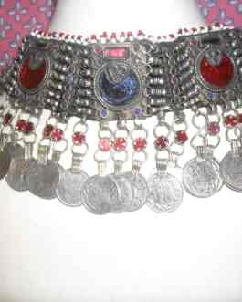 Afghani Necklace with Coins