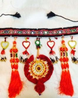 Belly-Dance Belt Single Flower with Long Tassel