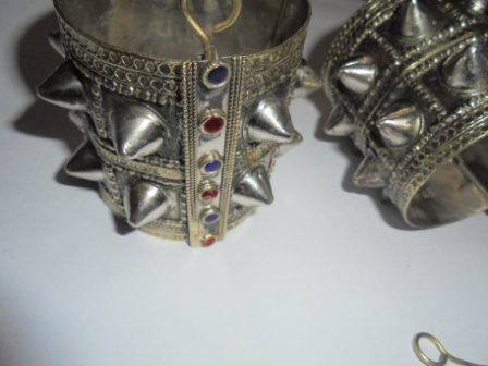 Double Spike Vintage Cuff