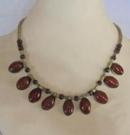 Crystal Coral Necklace