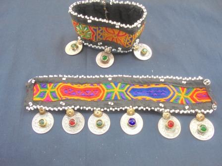 Antique Coins with Crystal Bracelet